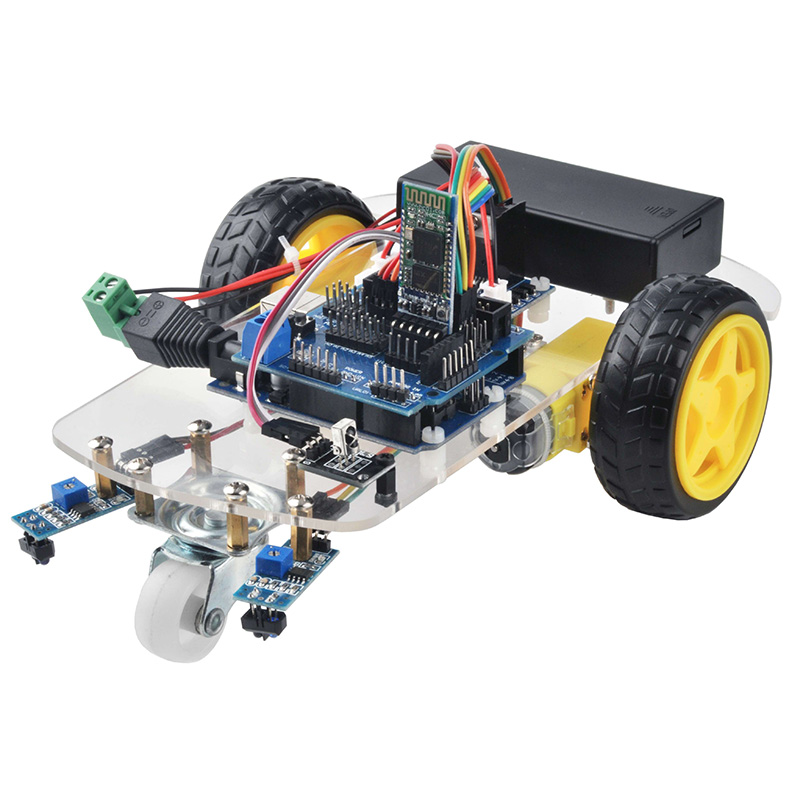 OSOYOO 2WD Robot Car Starter Kit Lesson 4: Bluetooth Control