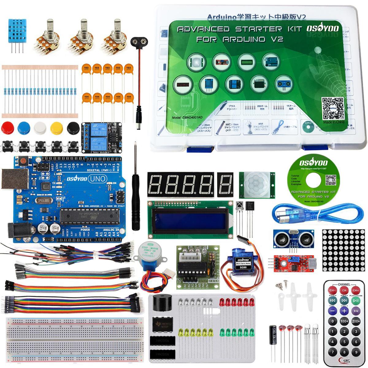 Osoyoo advanced kit for arduino «