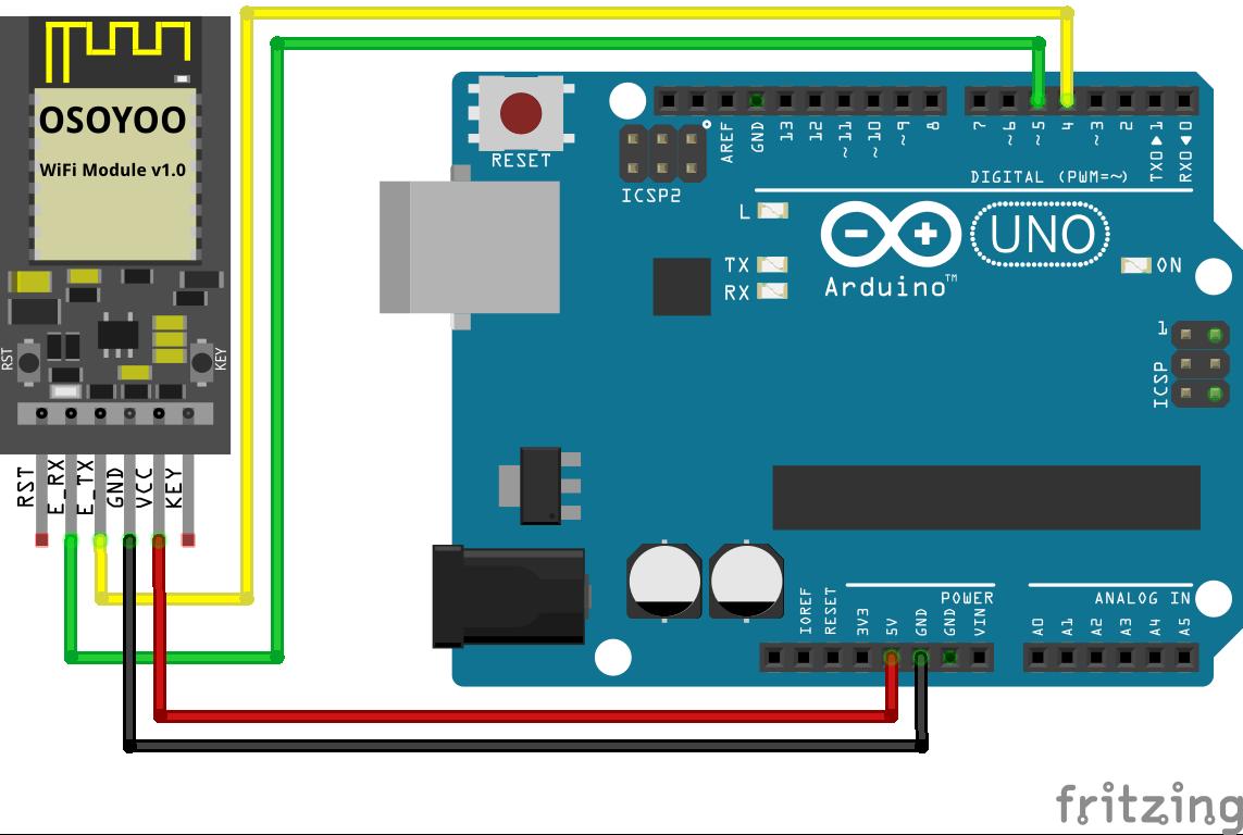 OSOYOO ESP8266 Wi-Fi Module Lesson 1: