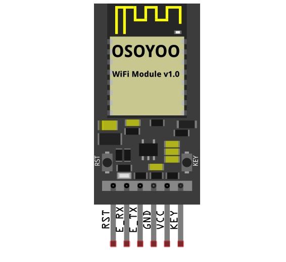 OSOYOO ESP8266 Wi-Fi Module for Arduino Introduction
