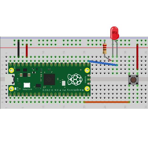 Raspberry Pi Pico Learning Kit Lesson 2: Programming Digital I/O