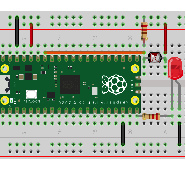 Raspberry Pi Pico Learning Kit Lesson 3: Analog Input and PWM output