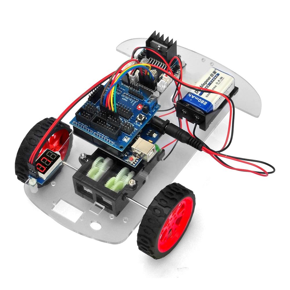 オソヨー M-3 ロボットカー レッスン1:    車 の 組  立
