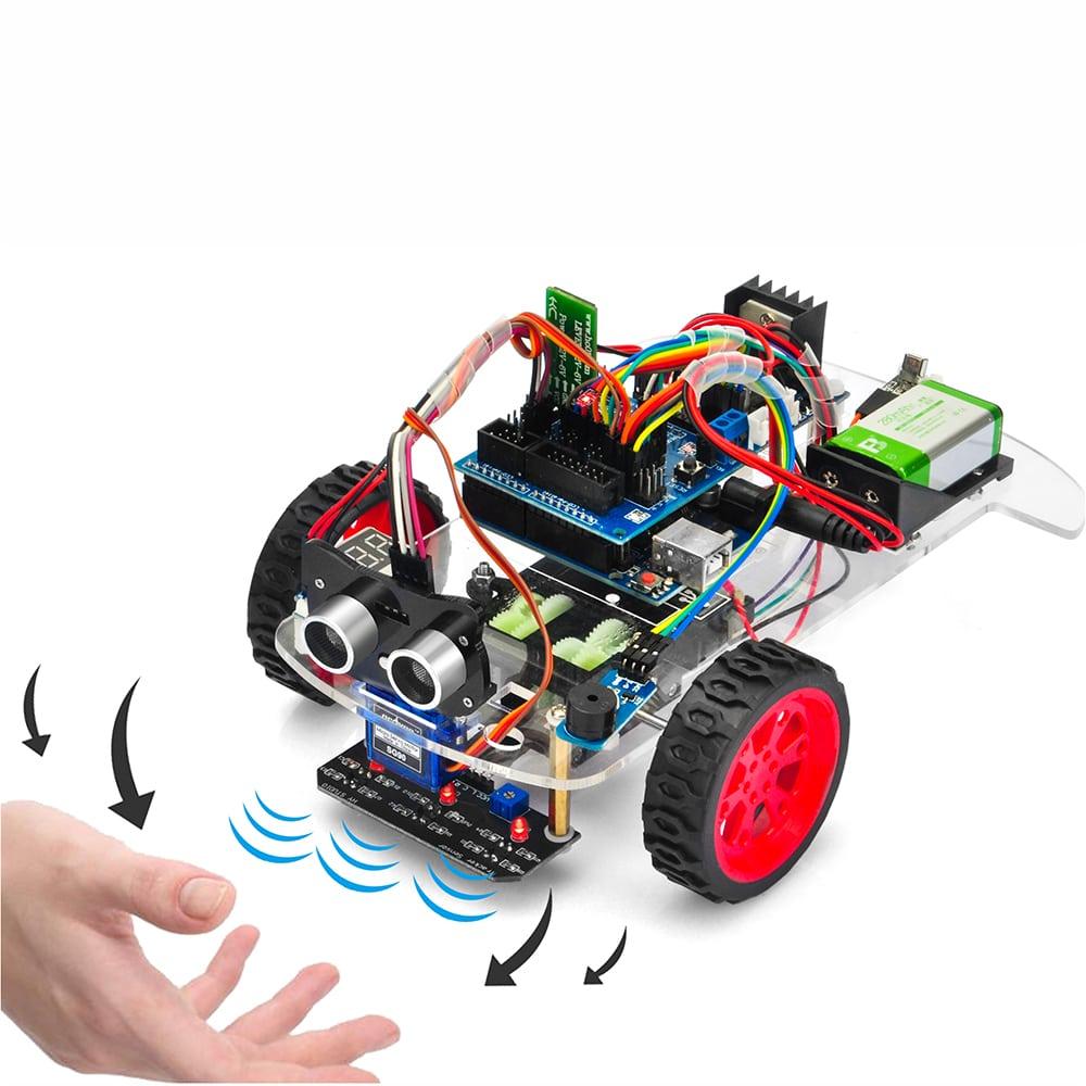 オソヨー M-3 ロボットカー レッスン4: にげるくるま