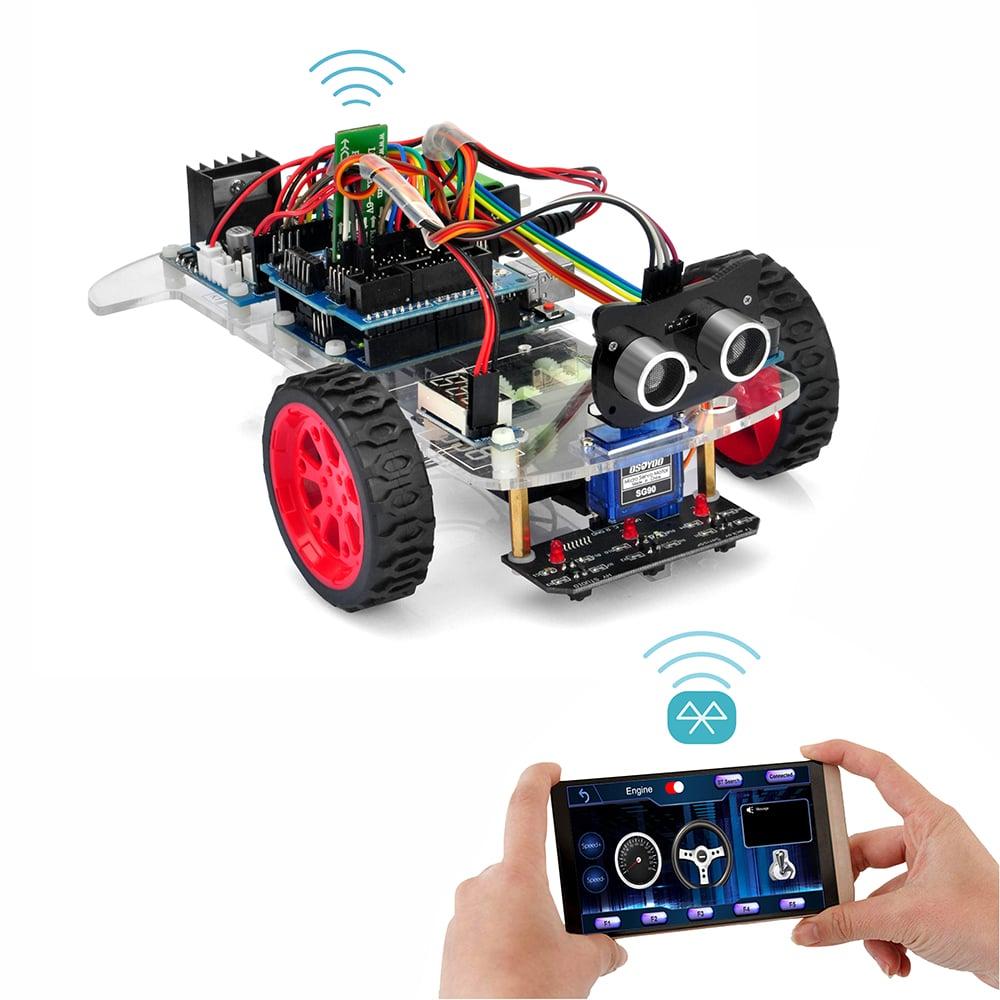 オソヨー M-3 ロボットカー レッスン6:Bluetooth スマホ操縦