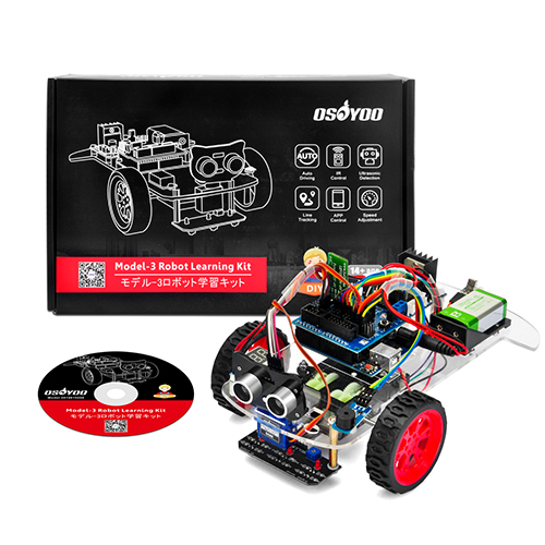 Osoyoo Model-3 Robot Learning Kit