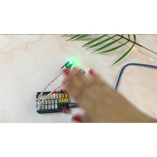 Arduino Graphical Programming Kit Lesson18 – PIR Motion Detect Sensor