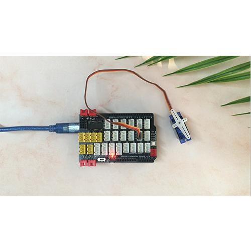 Arduino Graphical Programming  Kit Lesson19 – Servo Motor