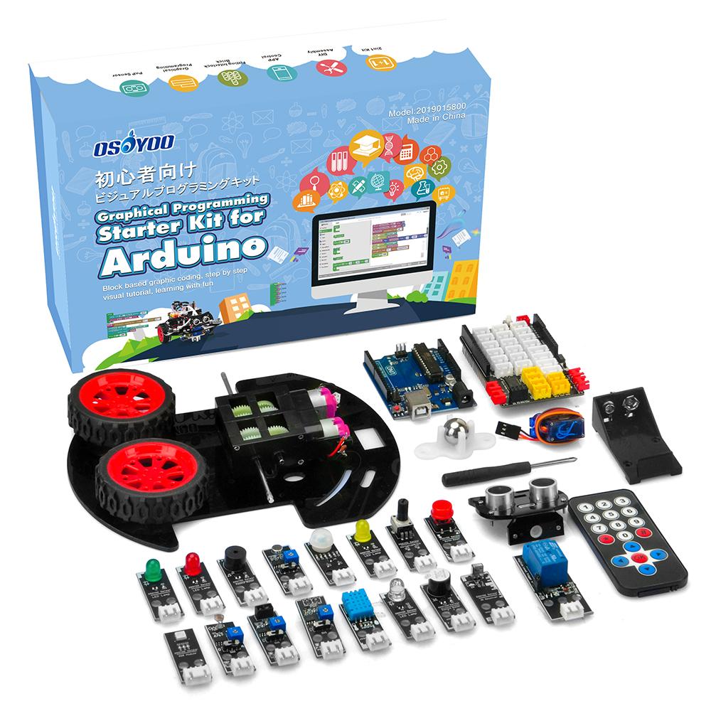 Arduino Graphical Programming Kit
