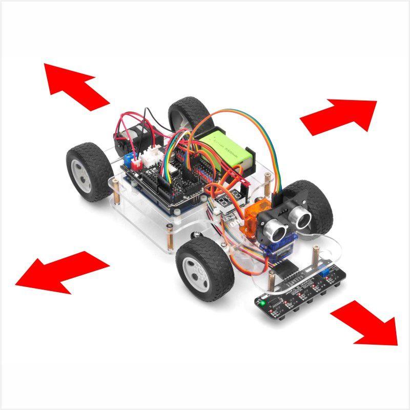 OSOYOO Sport Car for Arduino Lesson 2: Basic Movement
