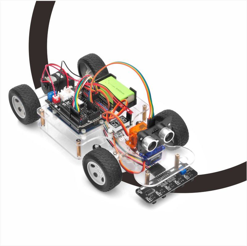 OSOYOO Sport Car for Arduino Lesson 3: Line Tracking
