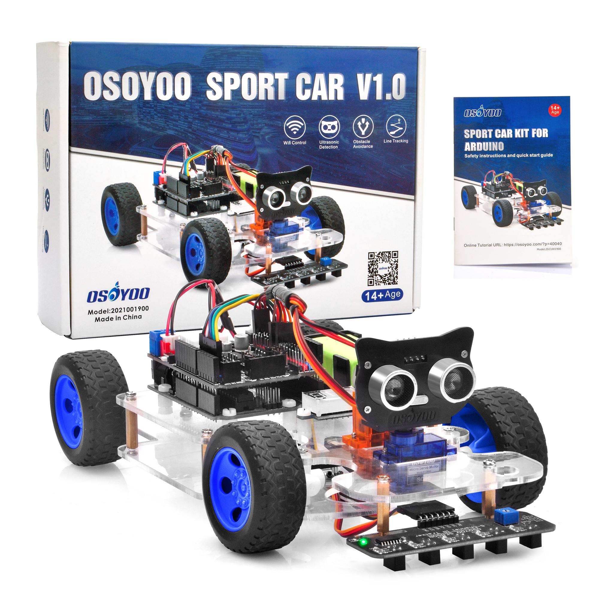 OSOYOO Sport Car for Arduino - Manual