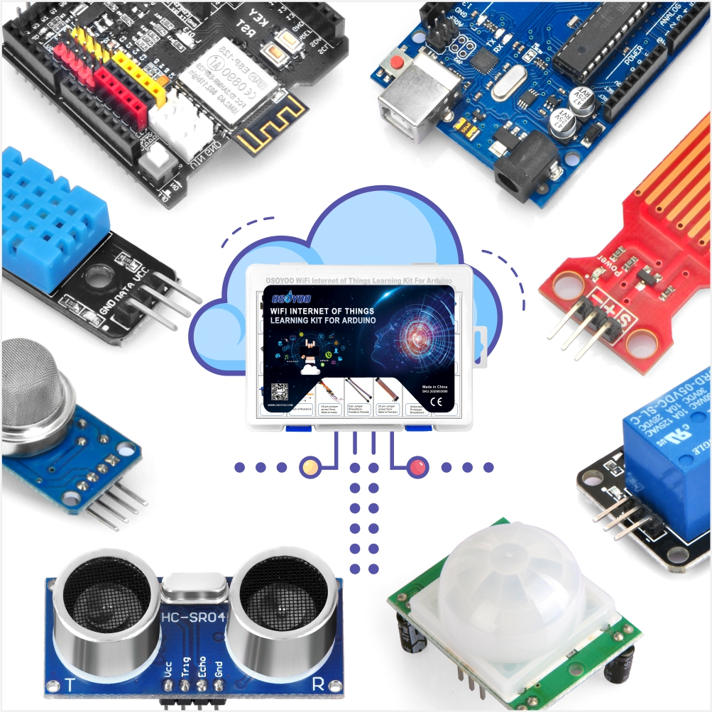 OSOYOO WiFi Internet of Things Arduino Learning Kit