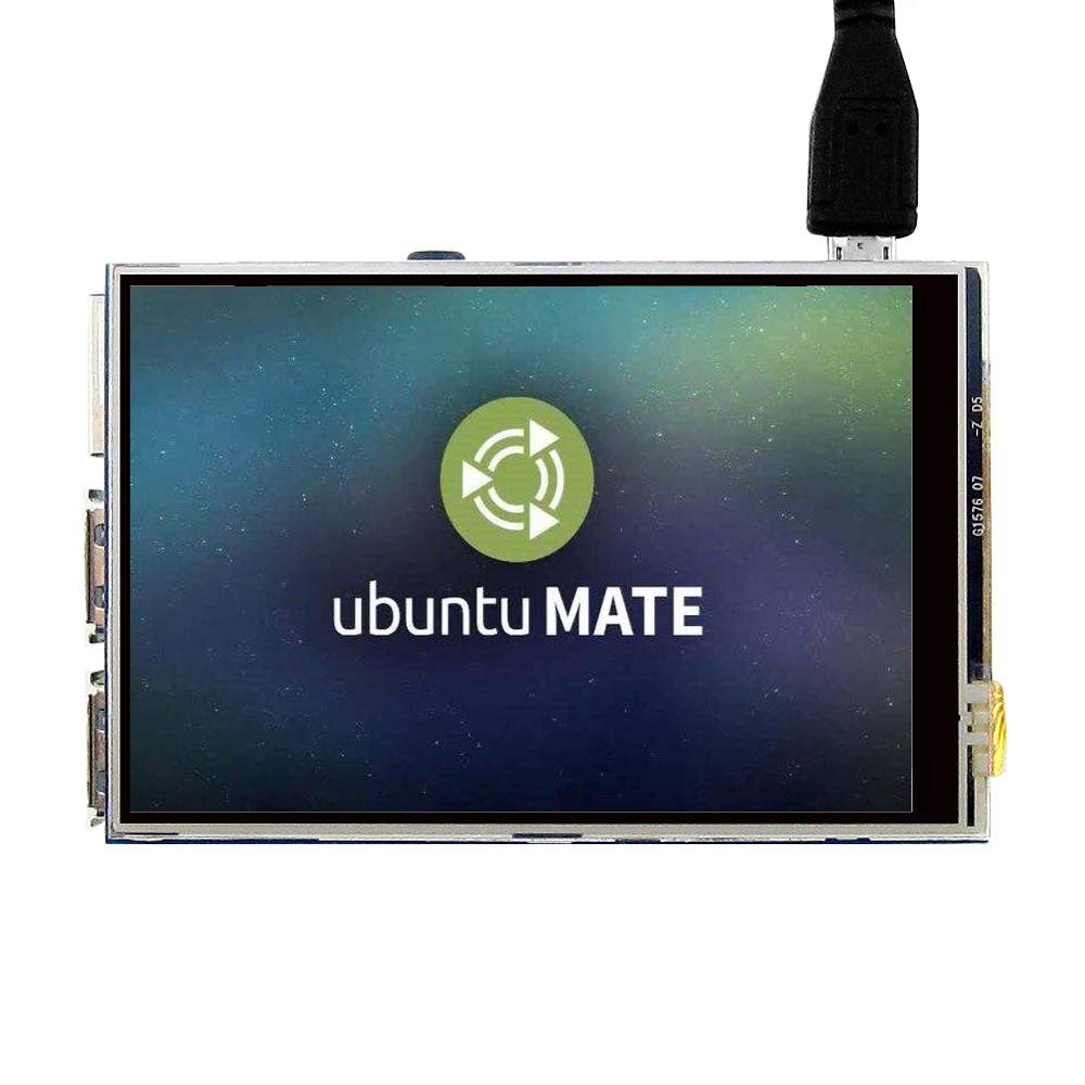 """Raspberry Pi(Ubuntu MATE装着)で3.5"""" タッチスクリーンのドライバーをインストールする"""