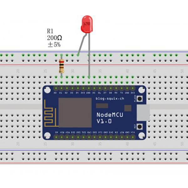 NodeMCU Lesson 3—Blink an LED