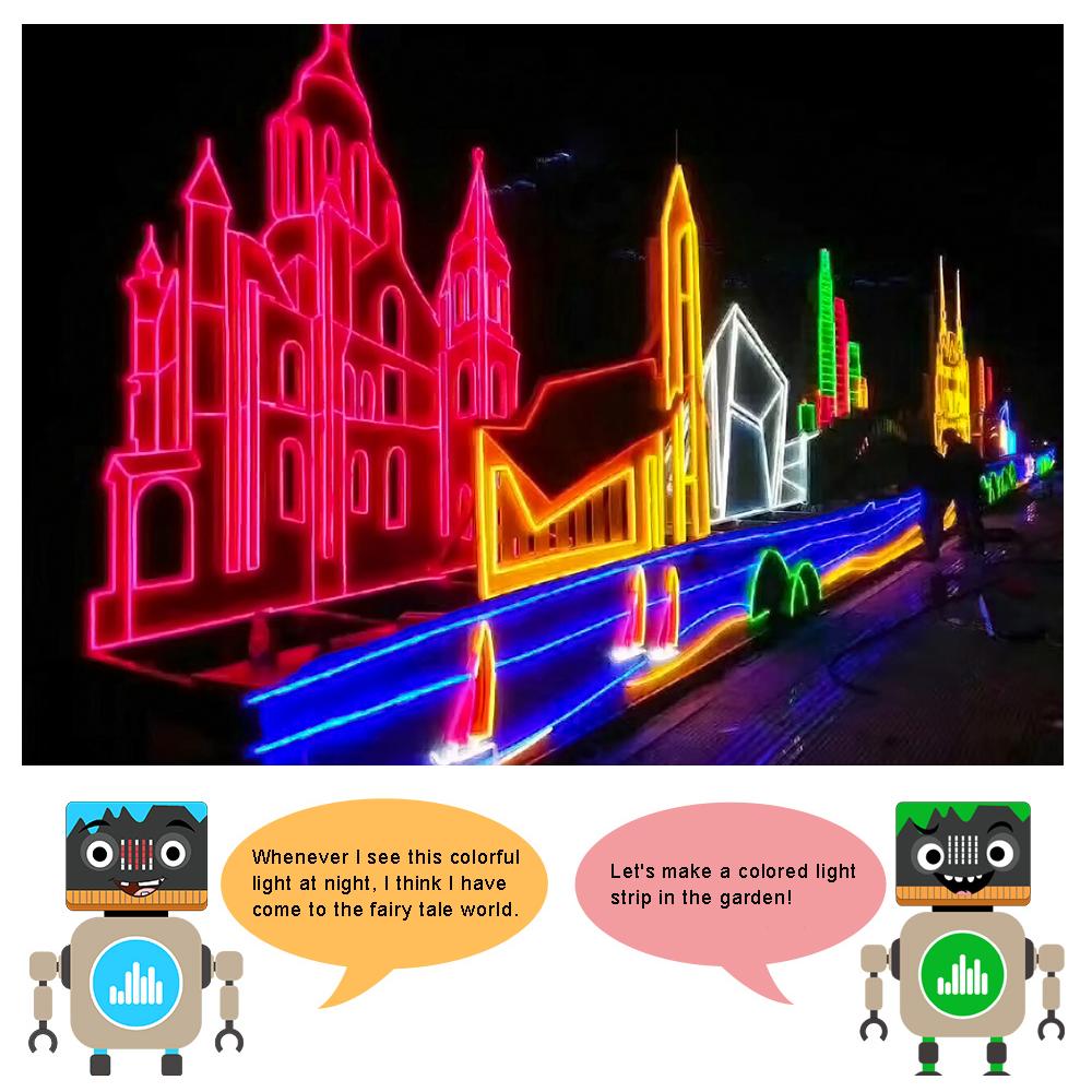 Micro:bit STEM Lesson 6: Colorful Neon Light