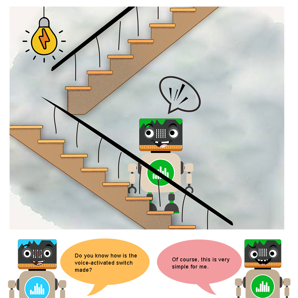Micro:bit STEM Lesson 11: Voice-activated Light