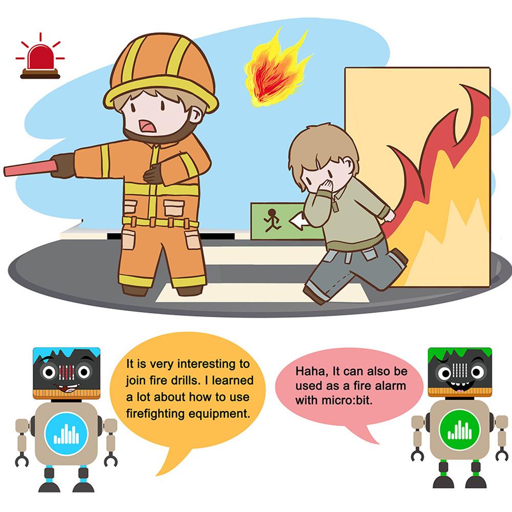 Fire extinguishing fan