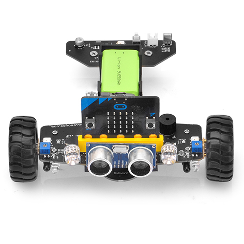 OSOYOO Robot Car for Micro Bit Lesson 5- Basic Robot Moving
