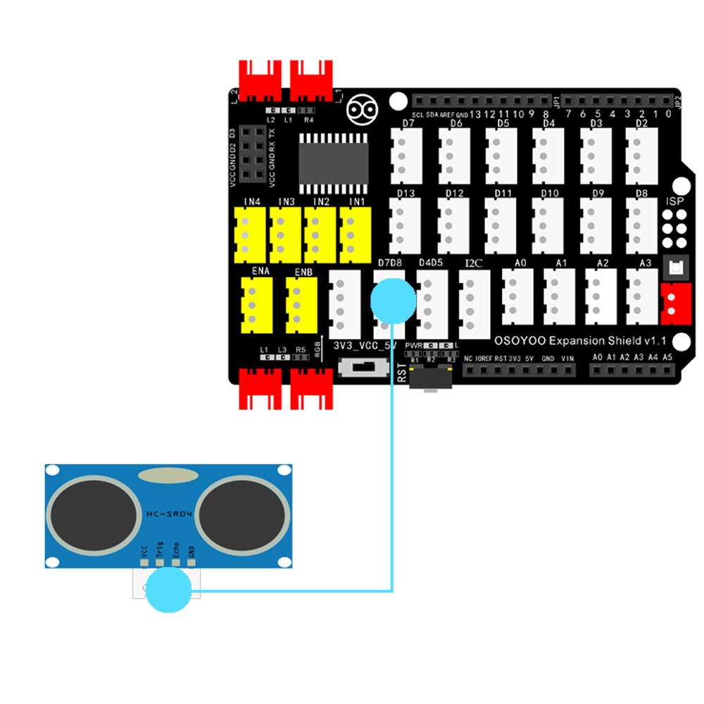 PnP Kit Lesson 24: Ultrasonic Sensor