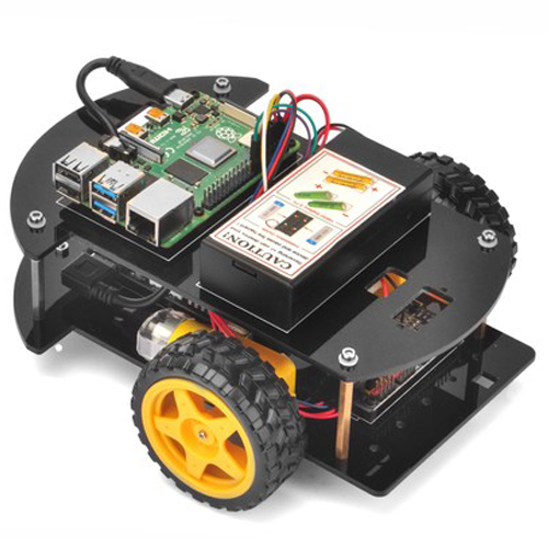 OSOYOO Raspberry pi car V2.0  lesson 1: Basic install and coding GPIO/PCA9685 (Python)