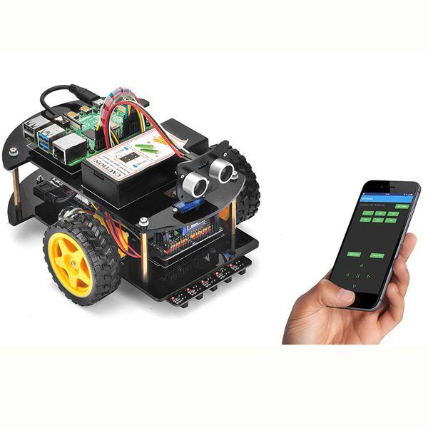 Pie Robot Car Lektion 4: Mobile App zur Steuerung mit UDP in Python
