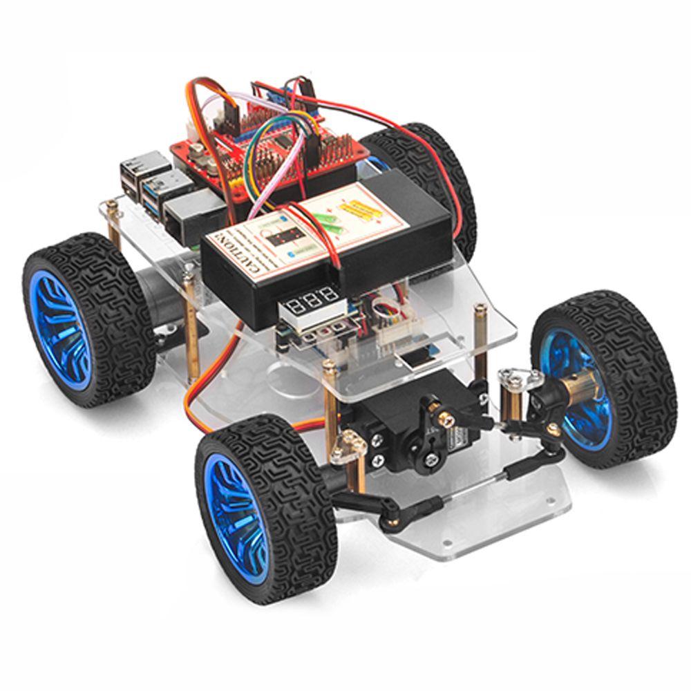 OSOYOO Servo Steer Smart Car for Raspberry Pi lesson 1: Hardware Installation