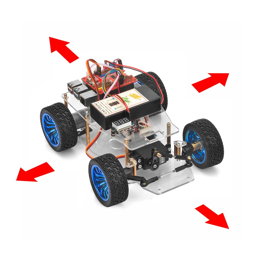 OSOYOO Servo Steer Smart Car for Raspberry Pi lesson 2: Software Installation and Basic Movement