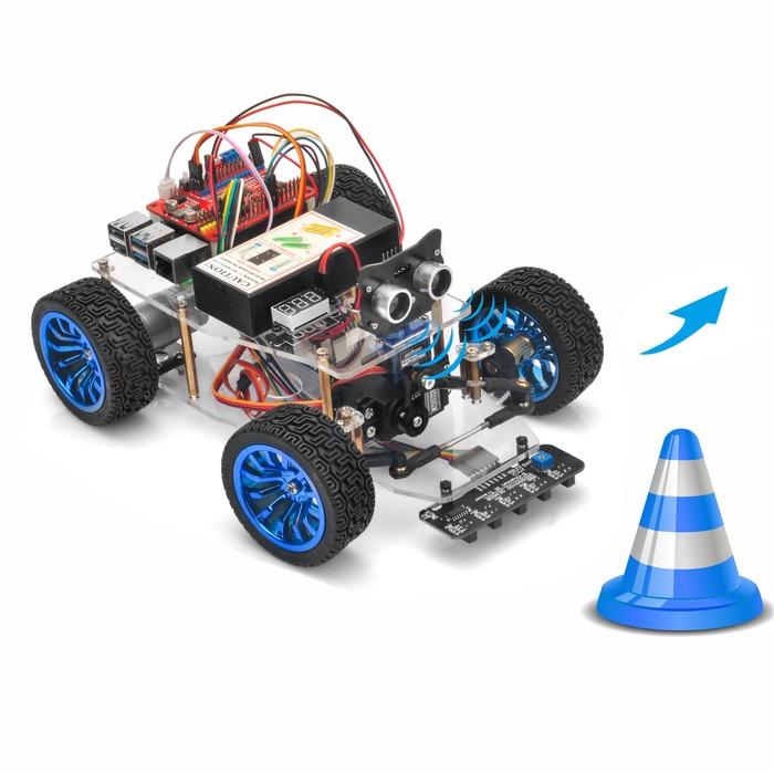 OSOYOO Servo Steer Smart Car for Raspberry Pi Lesson 4: Obstacle Avoidance