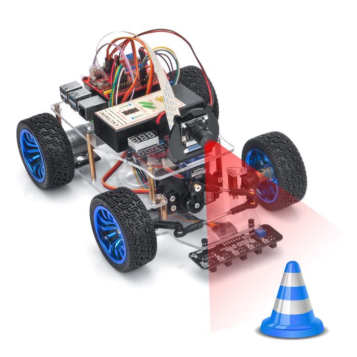 OSOYOO Servo Steer Smart Car for Raspberry Pi Lesson 6: Web Camera Control