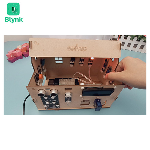 Smart House IoT Learning Kit V2.0 Blynk Lesson 2-2 Collect data remotely