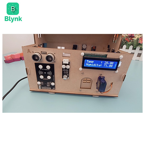 Smart House IoT Learning Kit V2.0 Blynk Lesson 2-3 Remote temperature and humidity monitoring