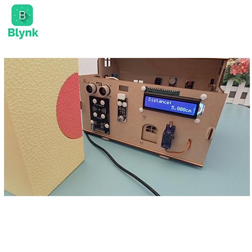 Smart House IoT Learning Kit V2.0 Blynk Lesson 2-4 Collect ultrasonic sensor data remotely
