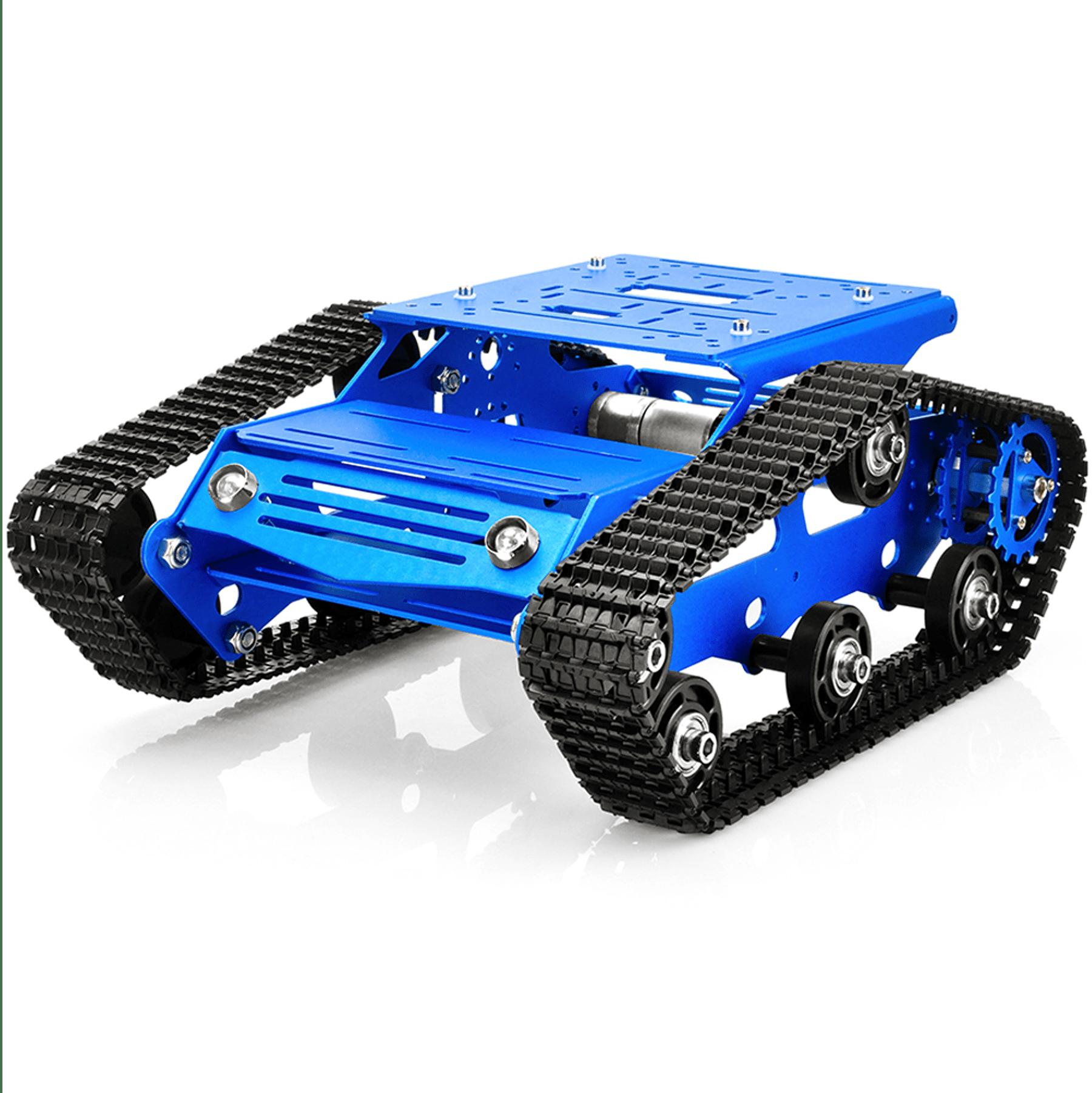 Robot Tank Car V2.0 Kit Lesson1(2): Tank car control board basic assembly