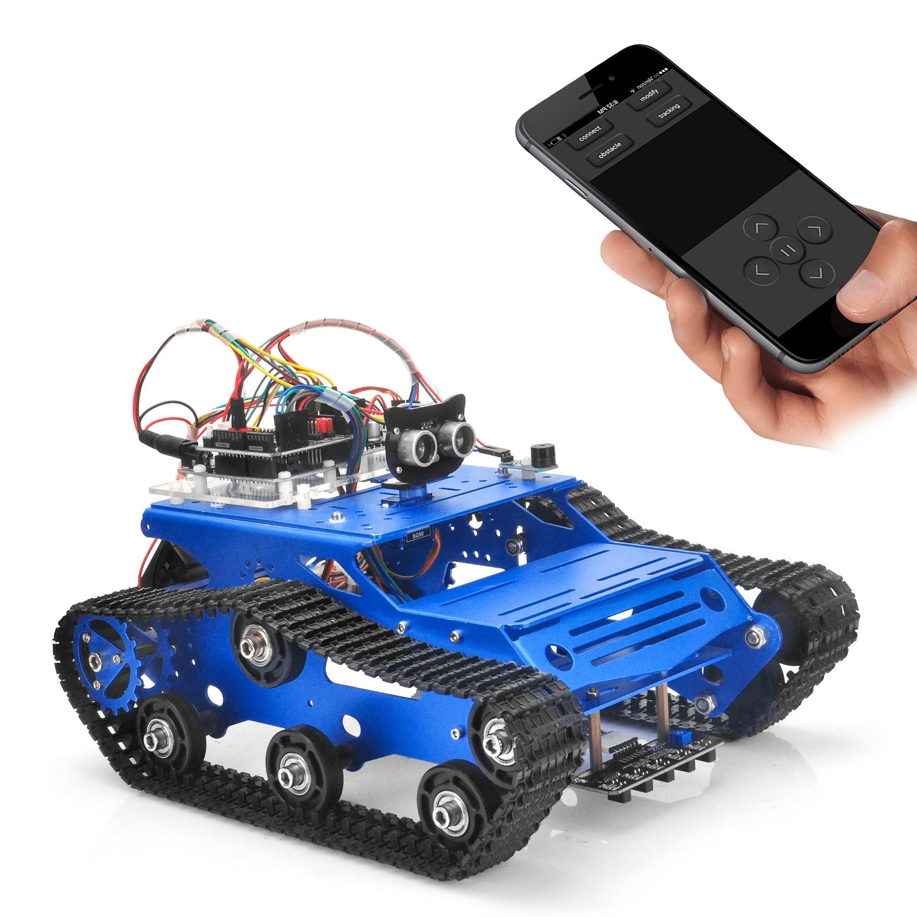 Robot Tank Car Kit V2. 0 Lesson6: WiFi IoT controlled