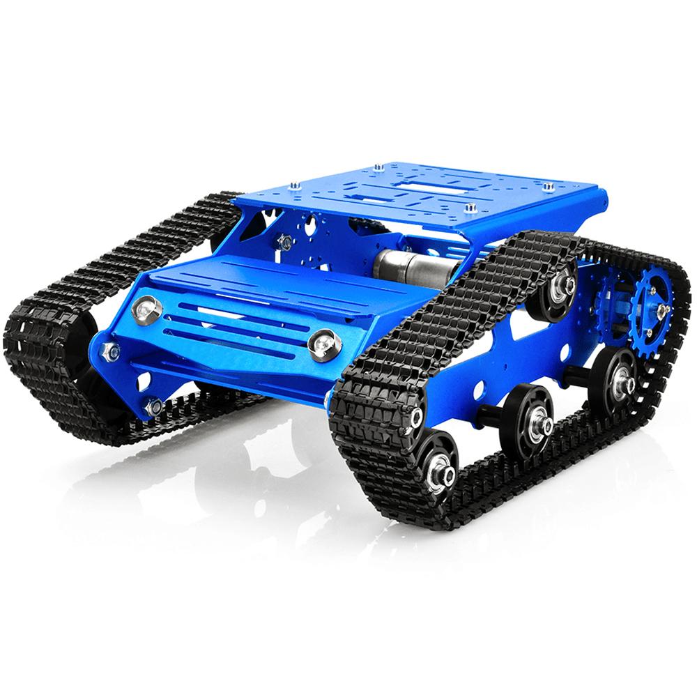Robot Tank Car V2.0 Kit Lesson1(1)- Tank chassis assembly