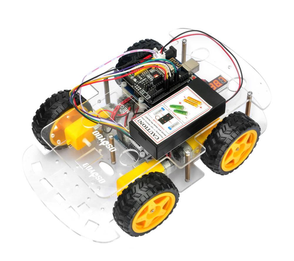 OSOYOOロボットカーキットレッスン1:ロボットカーを組立