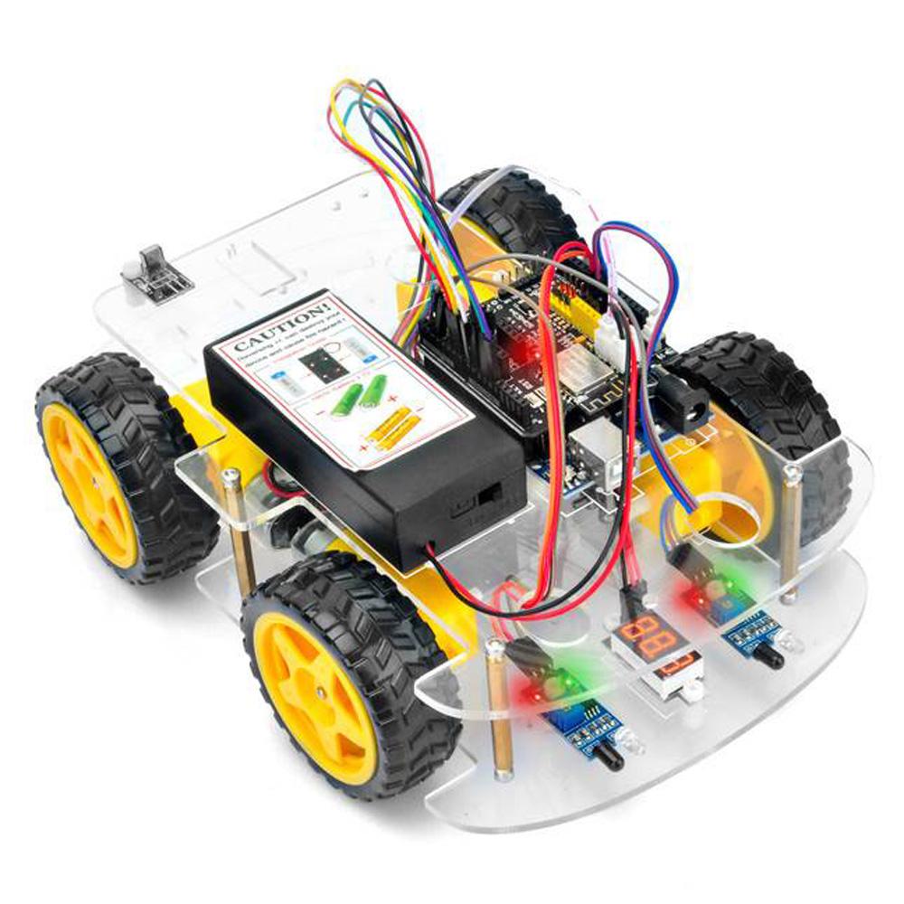OSOYOO V2.1 Robot car kit Lesson 3: Object follow Robot car