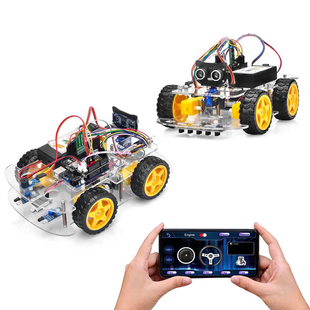 Arduino V2.1 Robot Car Lesson 8: Fighting Game