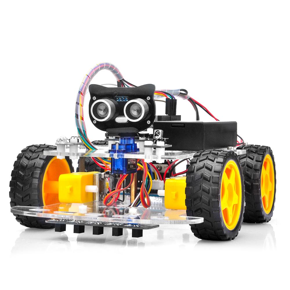 OSOYOO V2.1 Robot Car Kit for Arduino: Introduction Model#2019012400