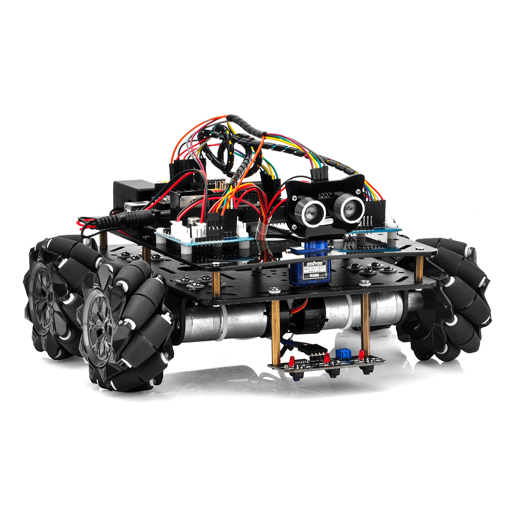 Metal Chassis Mecanum Wheel Robotic (for Arduino Mega2560) Introduction (Model ZZ012318MC)