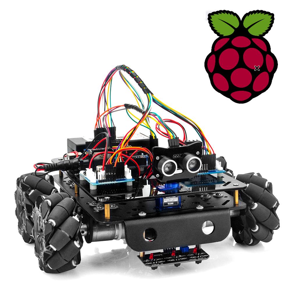 Use Raspberry Pi to control Mecanum Omni wheel robot car
