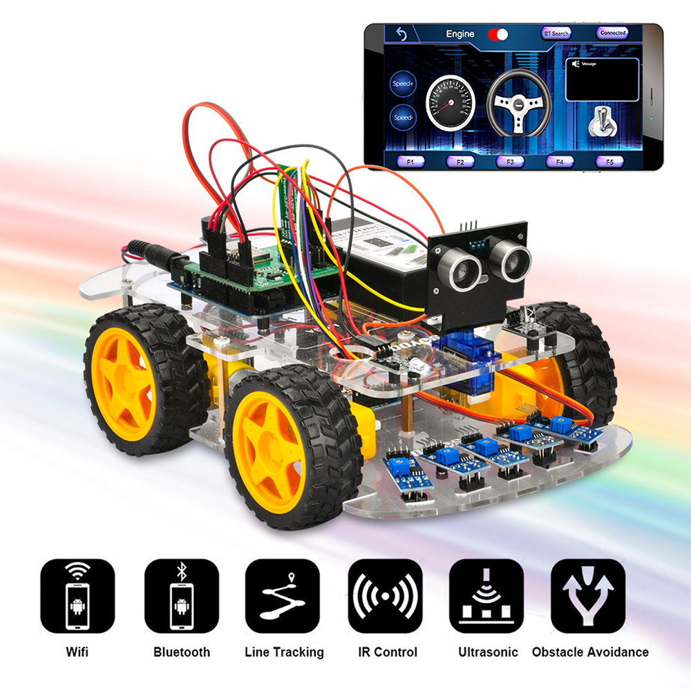 OSOYOO V2.0 Arduino Robot Car Kit Tutorial : Introduction Model#2019005000 V2.0