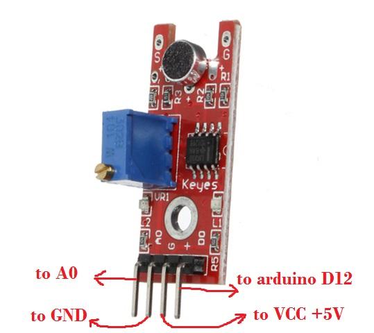 Sound Sensor Module Project