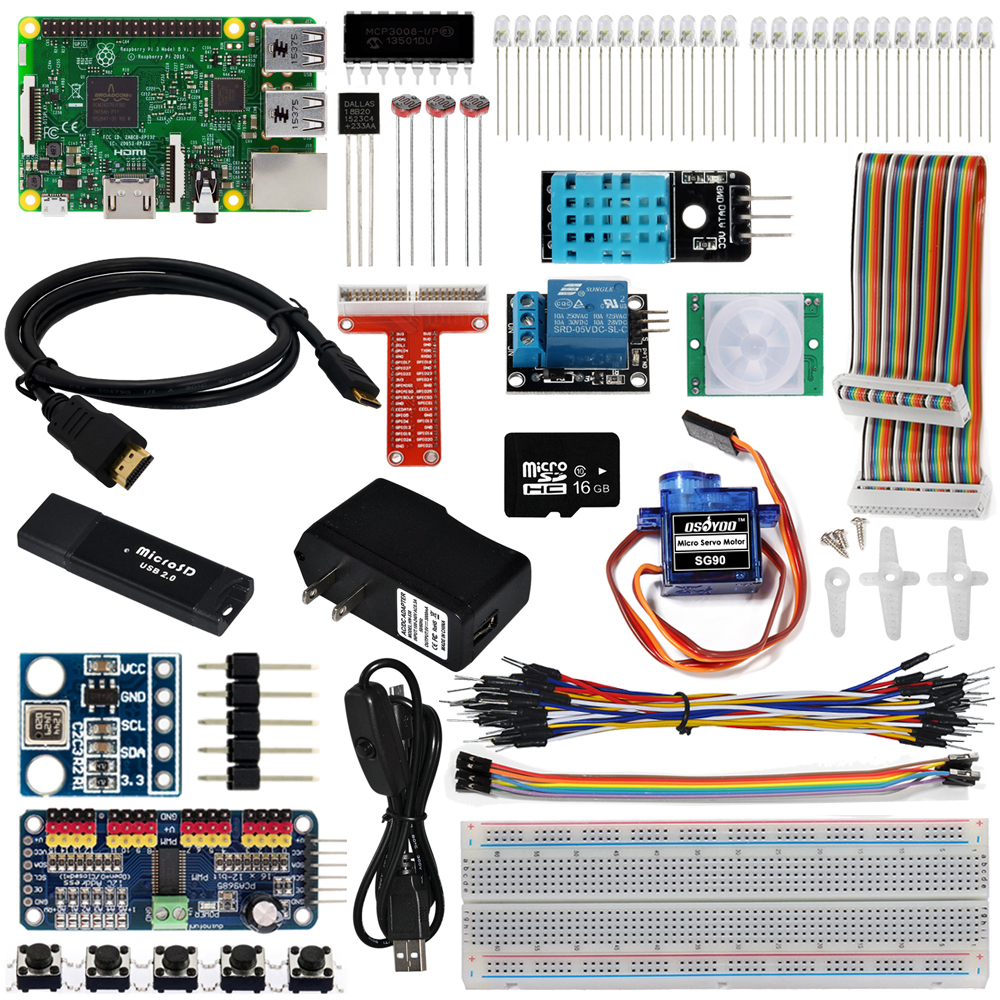 Internet of Things(IOT) Starter Kit on Raspberry Pi