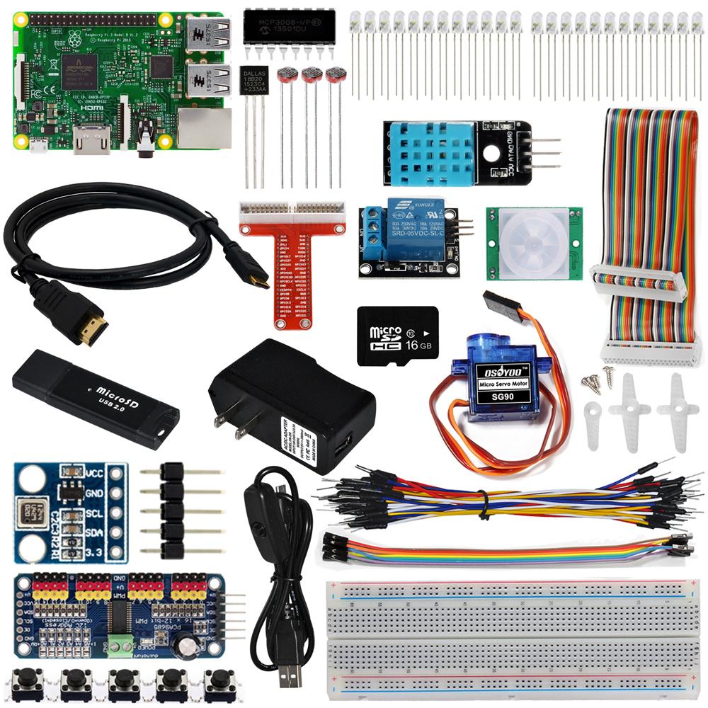 IoT開発電子部品キットfor Raspberry Pi