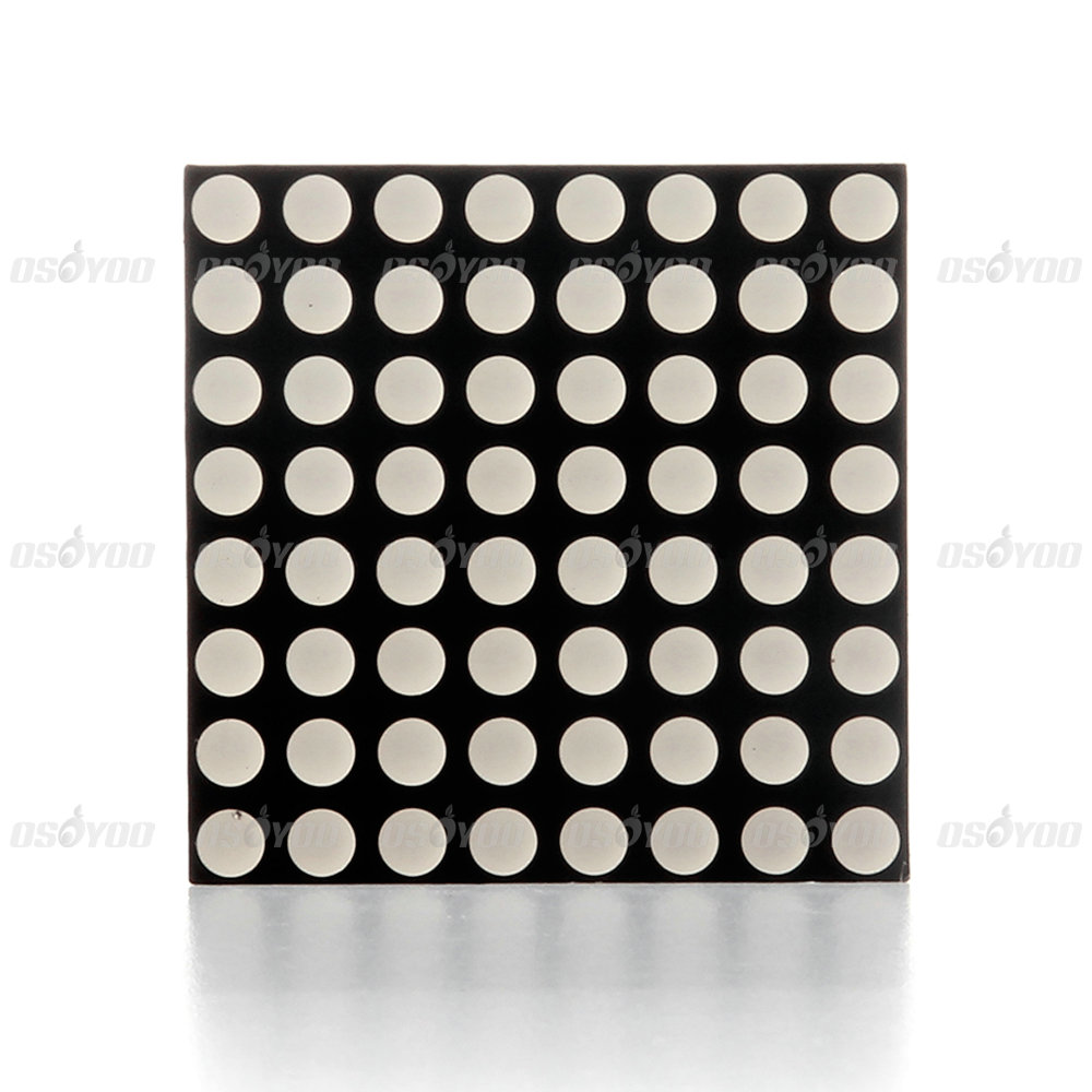 Use Arduino to drive 8×8 LED matrix