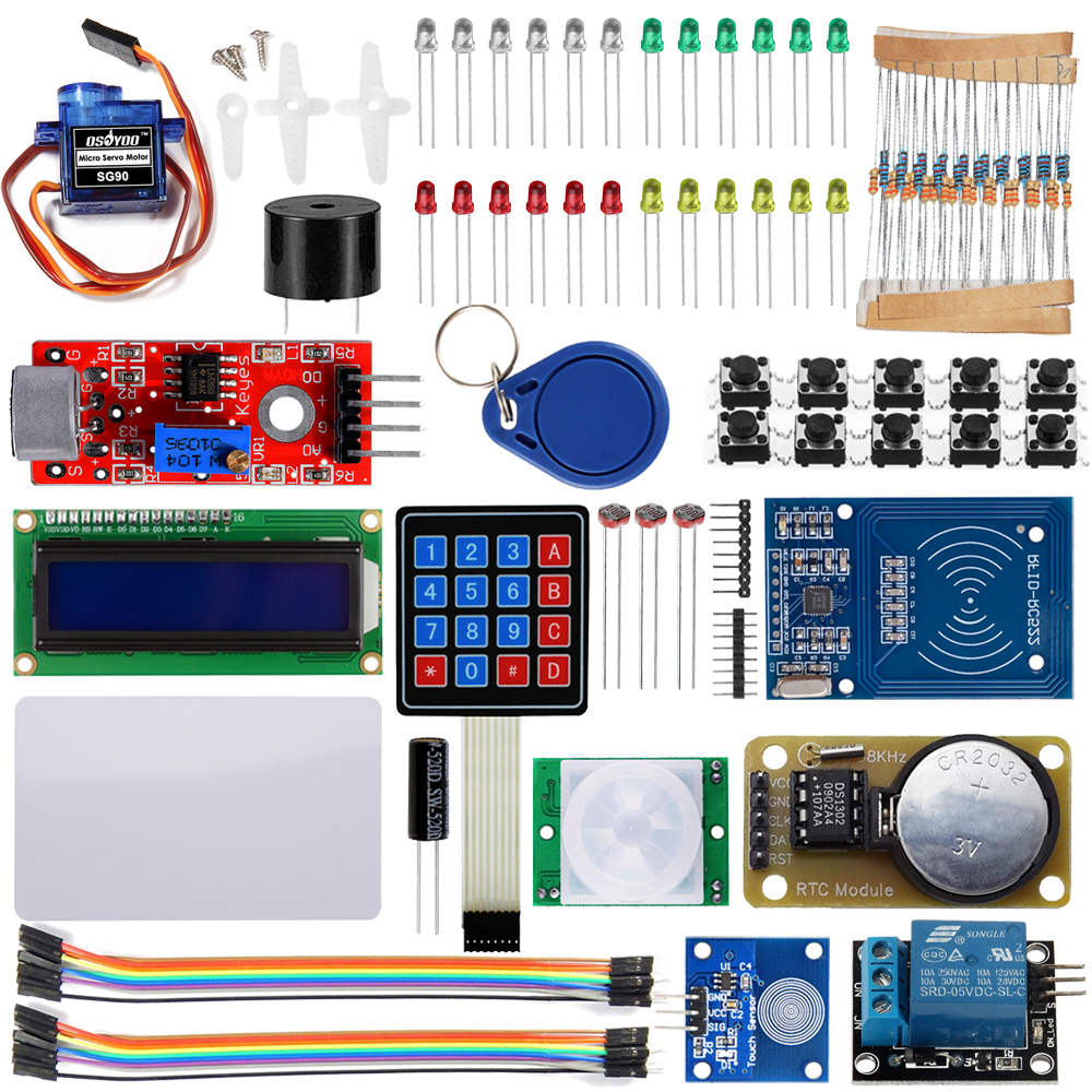 Arduino rfid security diy starter kit « osoyoo