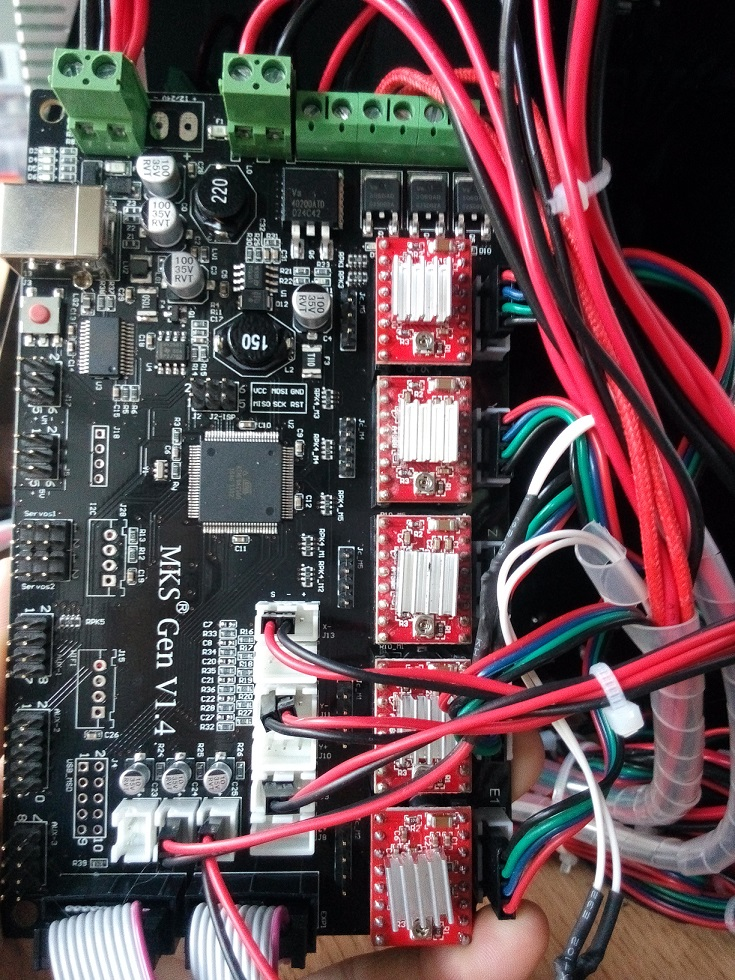 Mks base v1 5 firmware - USA MKS Base V1 5 Controller remix Board