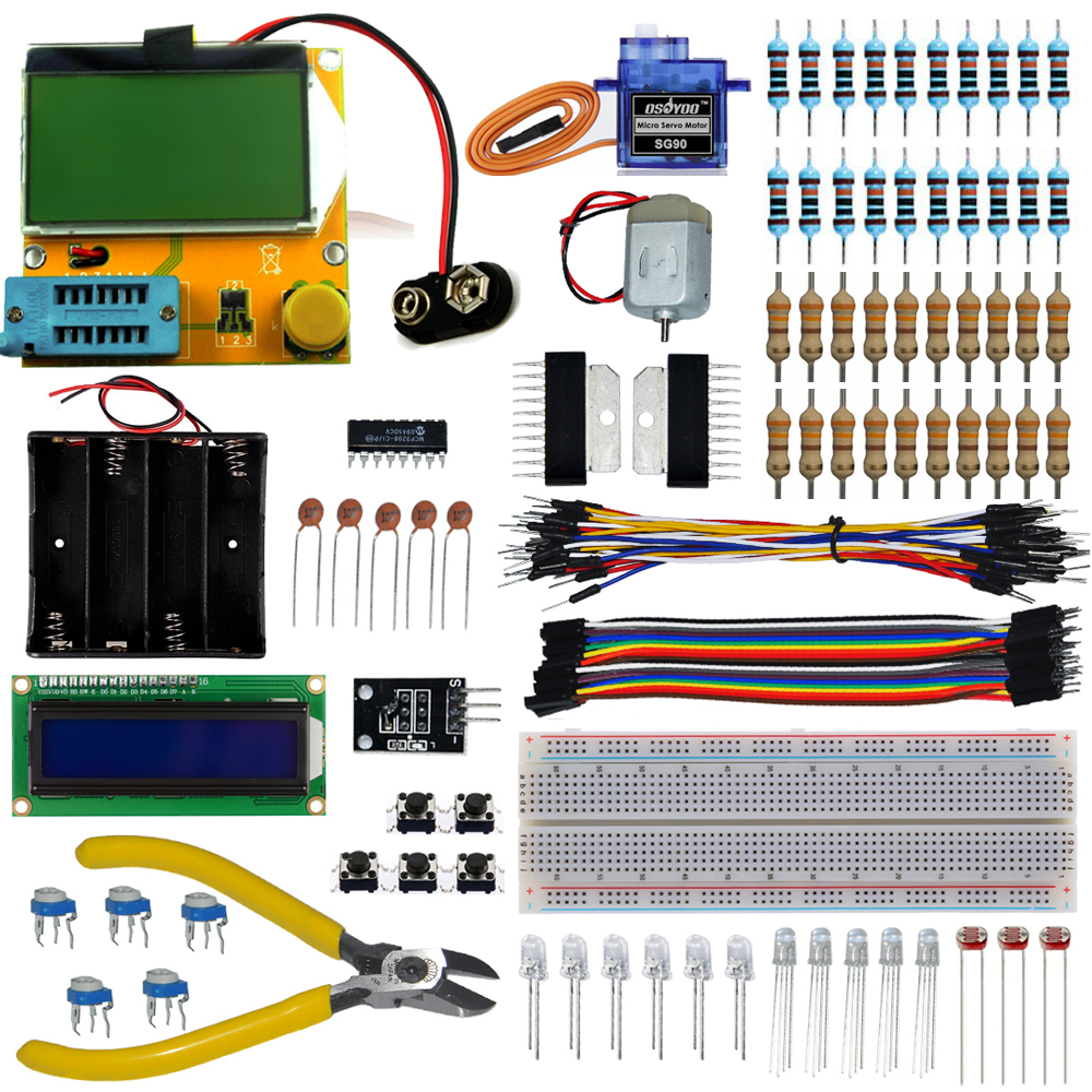 Working project kit for arduino with mega tester